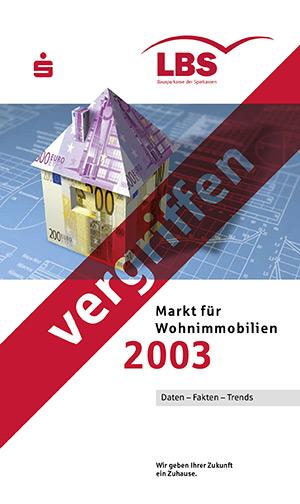 Broschüre Jahrgang 2003